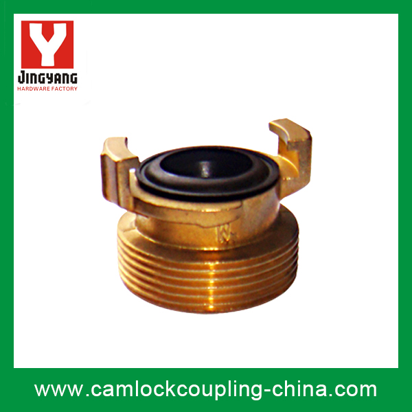 Brass Geka Coupling-Male