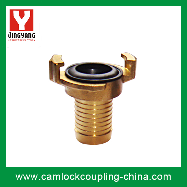Brass Geka Coupling-Hose End