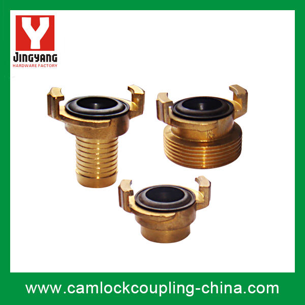Brass Geka Coupling-Whole Set